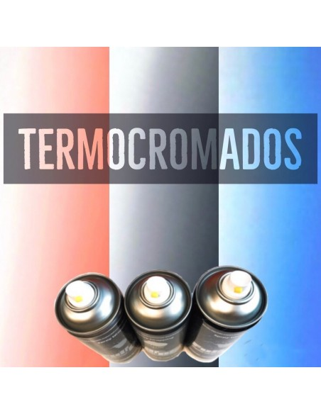Spray Termocromáticos